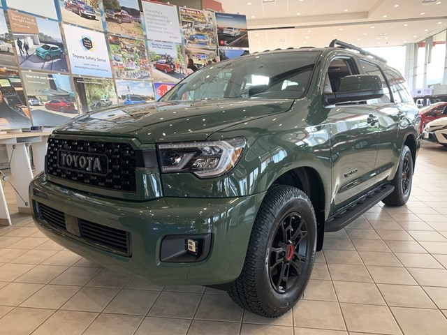 New 2020 Toyota Sequoia in Akron, OH