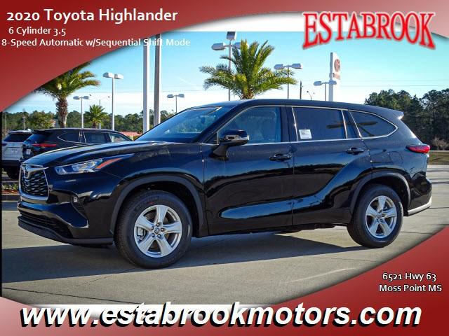 2020 Toyota Highlander LE