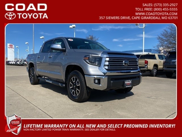 New 2020 Toyota Tundra in Cape Girardeau, MO