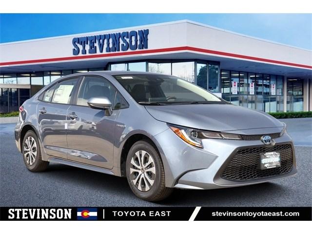 New 2020 Toyota Corolla Hybrid in Aurora, CO