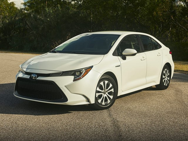 New 2020 Toyota Corolla Hybrid in Westminster, CA