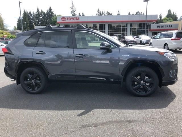 New 2020 Toyota RAV4 Hybrid in Everett, WA